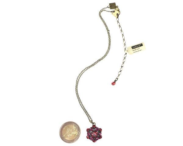 Konplott Bended Lights Halskette mit Anhänger in Koralle/ Pink 5450527758895