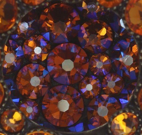 Konplott Inside Out Halskette mit Anhänger Größe L in orange 5450543638836