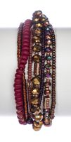 Konplott Petit Glamour d'Afrique Armband in braun 5450543897080