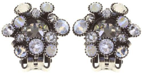 Konplott Alien Caviar Ohrclip Crystal Clear in weiß 5450543895475