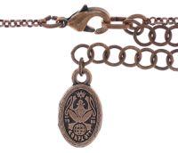 Vorschau: Konplott Tears of Joy Halskette mit Anhänger in coralline scarlet rot Größe L 5450543767505