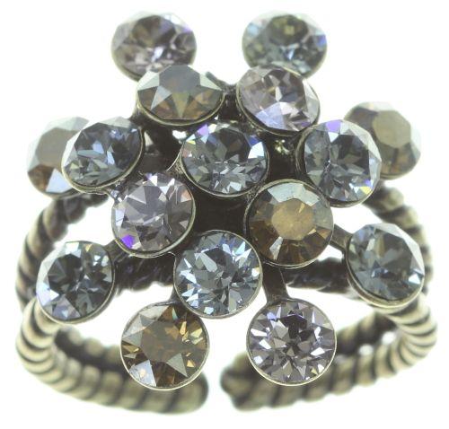 Konplott Magic Fireball Ring in grau 5450543754673