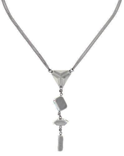 Konplott Mix the Rocks Y-Halskette in crystal blau 5450543789910