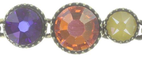 Konplott Water Cascade Armband in braun/orange 5450543754437
