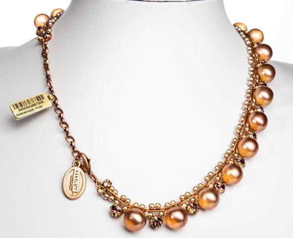 Konplott Caviar Classic Halskette Sunset in braun 5450543887555
