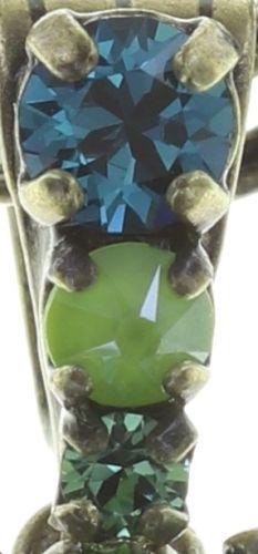 Konplott Ballroom Halskette mit Anhänger in blau/grün 5450543725826