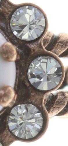 Konplott Little Frog Prince Ring in weiß - Wie neu, ohne Etikett 5450543708959