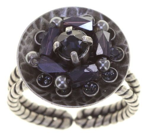 Konplott Soul of Thorns Ring Midnight Black 5450543886480