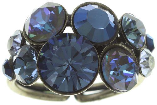 Konplott Petit Glamour Ring in dunkelblau 5450543760100