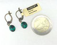 Vorschau: Konplott Black Jack Ohrhänger mit längl. Verschluss in emerald, dunkelgrün 5450527612241