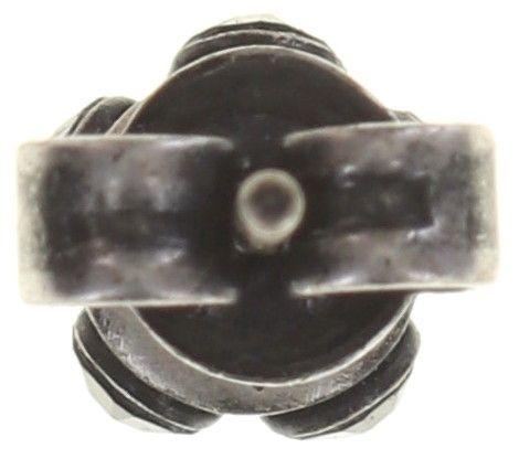 Konplott Disco Balls schwarze Ohrstecker klassisch 5450527571425
