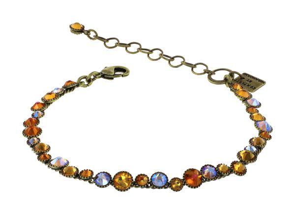 Konplott Water Cascade Armband in Amber 5450543938509