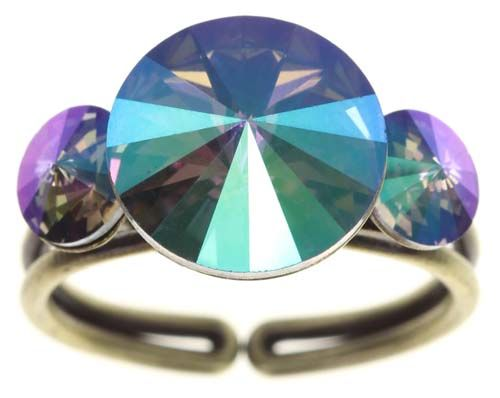 Konplott Rivoli Ring in lila crystal paradise shine 5450543785103