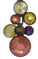 Vorschau: Konplott Water Cascade Halskette mit Anhänger in braun/orange 5450543754413