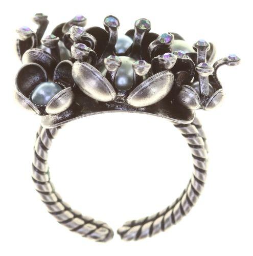 Konplott Ring in blau/grün - Where the Lilac Bloom 5450543884516