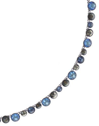 Konplott Water Cascade steinbesetzte Halskette in blau/braun 5450543772905