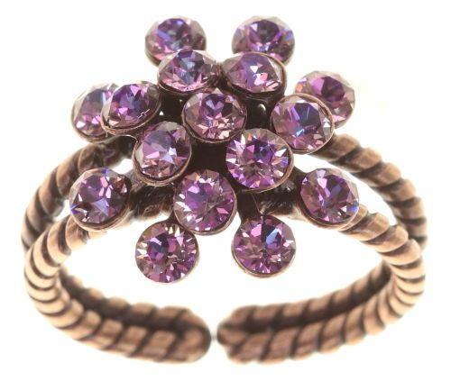 Konplott Magic Fireball Ring Deep Rose in rosa mini 5450543813752
