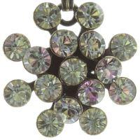 Konplott Magic Fireball Halskette mit Anhänger hellrosa/ weiß mini 5450543683447