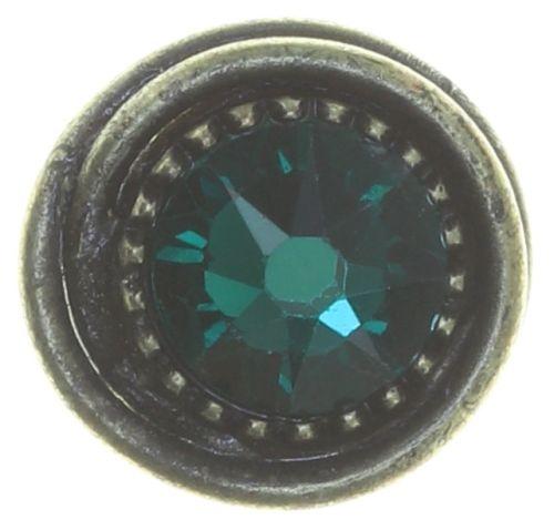 Konplott Amazonia Ohrstecker in blau/grün emerald 5450543771427