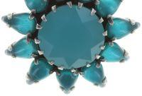 Vorschau: Konplott Sunflower Ohrclip hängend in blau Größe L 5450543740591