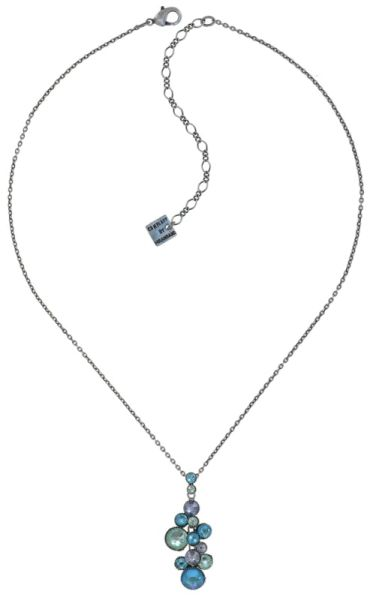 Konplott Water Cascade Halskette in Minty Fresh blau/grün 5450543907192