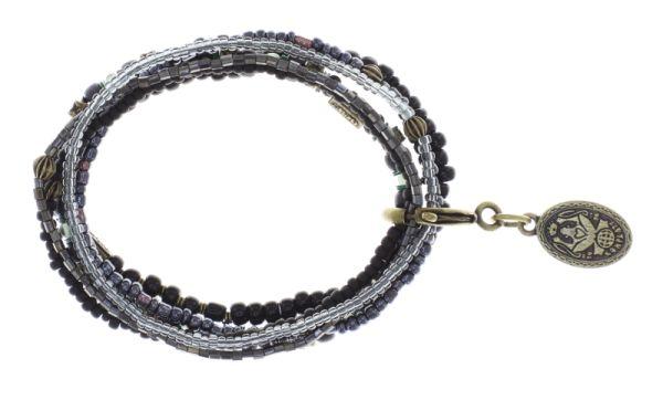 Konplott Petit Glamour d'Afrique Armband in schwarz antique 5450543868936