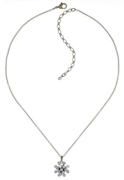 Konplott Magic Fireball Halskette mit Anhänger Mini Crystalline White 5450543895369
