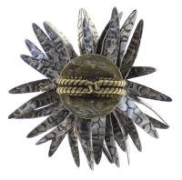 Vorschau: Konplott Global Glam Ring in apricot silber 5450543811994
