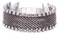 Vorschau: Konplott Rock 'n' Glam Armband in crystal weiß 5450543778075