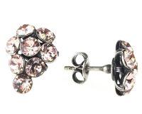 Vorschau: Konplott Magic Fireball Ohrstecker klassisch Traube in vintage rose 5450527611992