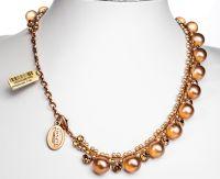 Vorschau: Konplott Caviar Classic Halskette Sunset in braun 5450543887555