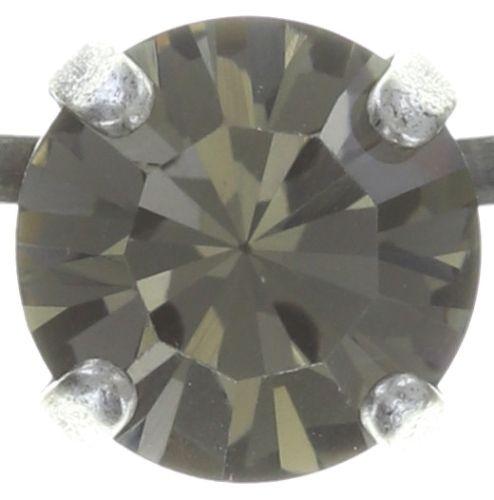 Konplott Cleo Halskette steinbesetzt in schwarz 5450543716145