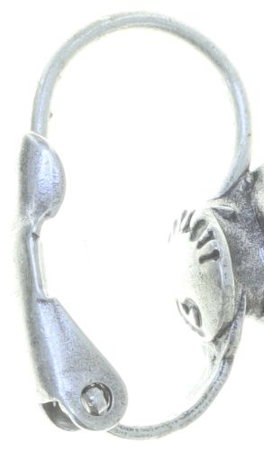 Konplott Industrial Ohrhänger in weiß 5450543767185