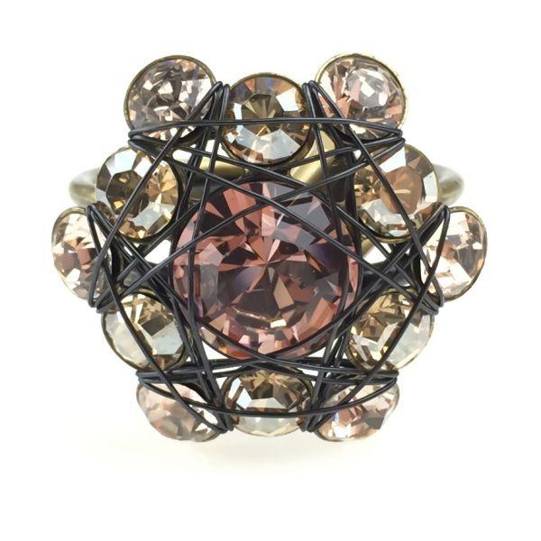 Konplott Bended Lights Ring in beige/vintage rose 5450527760034
