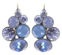 Konplott Petit Glamour Ohrringe in soft water blue 5450543795027