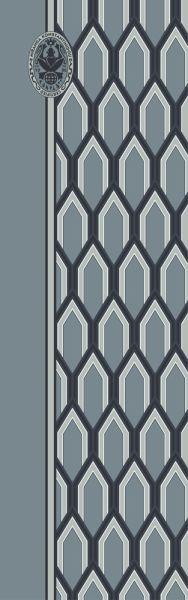 Konplott Schal Geometrisch 14 in blau 5450543807041