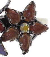 Vorschau: Konplott Twisted Flower Armreif in braun 5450543775272