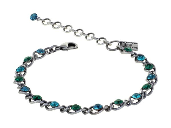 Konplott Magic Fireball Armband Emerald Blue in Classic Size 5450543936284