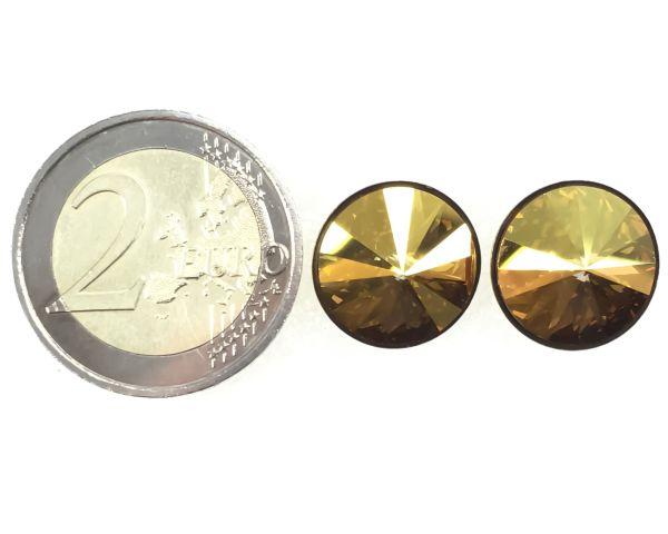 Konplott Rivoli metallic sunshine Ohrstecker klassisch 5450543316697