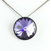 Vorschau: Konplott Rivoli lila Halskette mit Anhänger 5450527613002