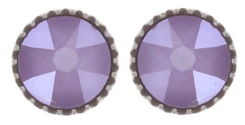Black Jack Ohrstecker klassisch klein in lila crystal