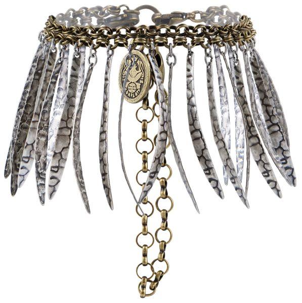 Konplott Global Glam Armband in apricot silber 5450543791111