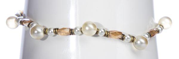 Konplott Caviar Classic Armband Daylight in weiß 5450543894812