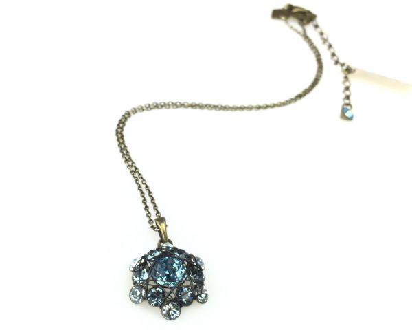 Konplott Bended Lights Halskette mit Anhänger in Hellblau 5450527280259