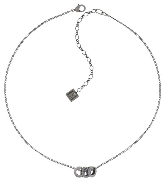 Konplott Colour Ring Halskette in sapphire blau/grün 5450543734309