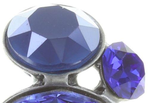 Konplott Disco Star Ohrstecker in dunkel blau 5450543727325