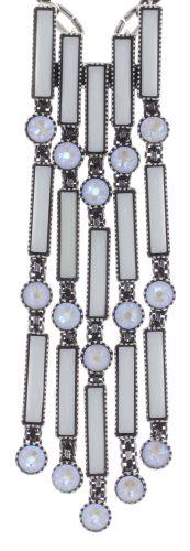 Konplott Graphic Flow Halskette in weiß antique 5450543867403