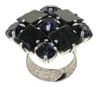 Konplott Cleo Ring Graphite Black 5450543911748
