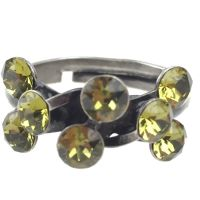 Konplott Magic Fireball 8 Stein Ring in khaki 5450527640329