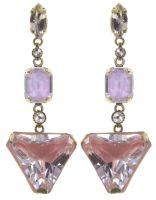 Vorschau: Konplott Mix the Rocks Ohrstecker in rosa crystal blush 5450543790510